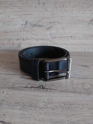 Кожаный классический ремень пояс черный Levi's 90см 36 дюймов