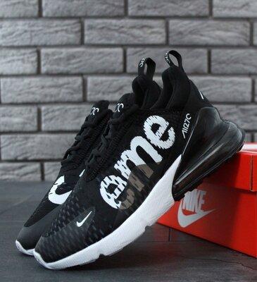 Унісекс жіночі чоловічі кросівки Nike Air Max 270 Supreme 36-45