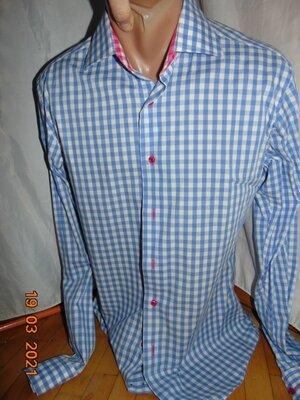 Стильная нарядная фирменная рубашка бренд Long Island.м .