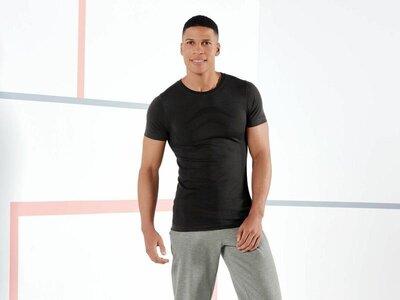 Бесшовная спортивная мужская футболка crivit германия