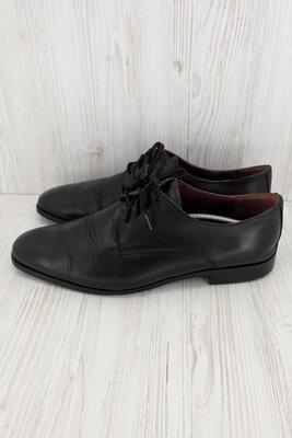 Стильные фирменные классические кожаные туфли Globus. Размер uk8/ eur 42.