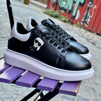 Кроссовки бренд Karl Lagerfeld Материал - Эко кожа Размера 40-41-42-43-44 Цена -