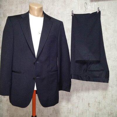 Брюки тонкая шерсть 48 размер мужской костюм , Duomo Woolmark пиджак в подарок