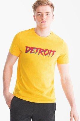 Яркая мужская футболка нидерланды c&a
