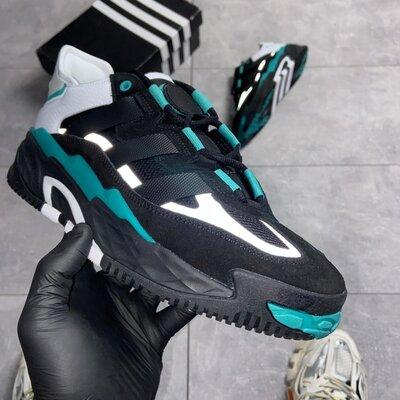 мужские кроссовки A/idas Niteball Black FW2477.
