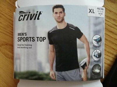 Продано: Футболка для занятий спортом спортивна футболка Германия crivit pro