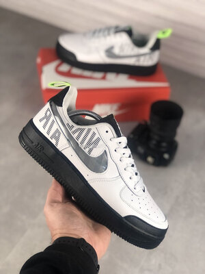 Nike Air Force Under Construction White Black