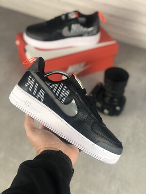 Nike Air Force Under Construction Black White