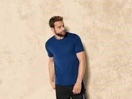 Бавовняна чоловіча футболка Livergy М синій