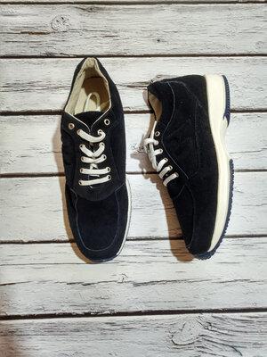 Кроссовки замшевые натуральные итальянские кросівки натуральна замша