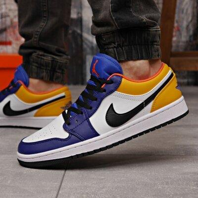 Кроссовки мужские 18252 Nike Jordan, белые