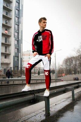Мужской спортивный костюм двухнитка