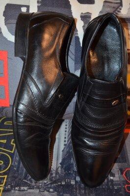 Мужские классические туфли , натуральная кожа р.41