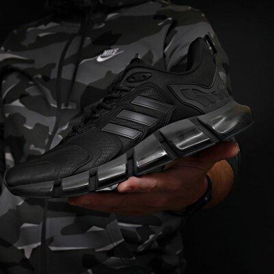 Кроссовки мужские 18311 Adidas x Pharrell Williams Climacool Vento TOP AAA , черные