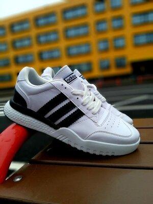 Мужские кроссовки адидас Adidas белые
