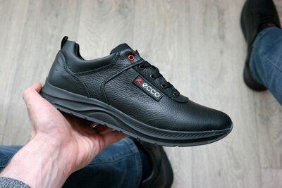 Мужские кожаные туфли кроссовки чоловічі шкіряні туфлі кросівки прошиті большие размеры есть