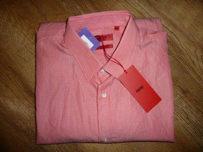 Новая крутая рубашка Hugo Boss , р L, оригинал, Hugo Boss slim fit