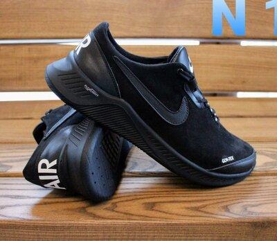 Кроссовки Кожаные Мужские замша Nike