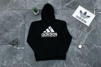 Худи весна-осень Adidas черный
