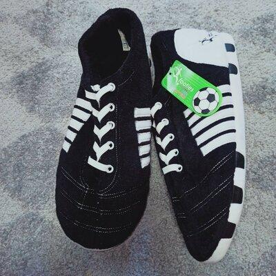 Продано: Роскошные супер мягкие мужские футбольные бутсы Footies для взрослых, новинка, тапочки для дома разм