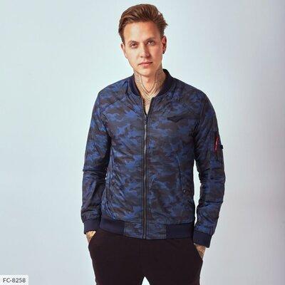 Мужская куртка ветровка, камуфляж