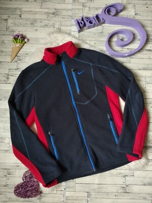 Толстовка Nike на флисе с мехом мужская