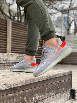 Мужские Кроссовки Adidas Yeezy Boost 350 V2 Grey ААА 41-42-43-44-45-46