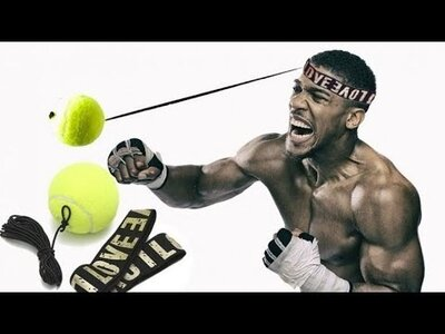 Боксерський тренажер Файтбол Boxing Reflex Ball мяч для бокса