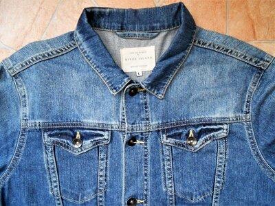 джинсовая куртка River Island размер L 50