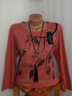 54-58 женская блуза кофточка рубашка большой размер дешево