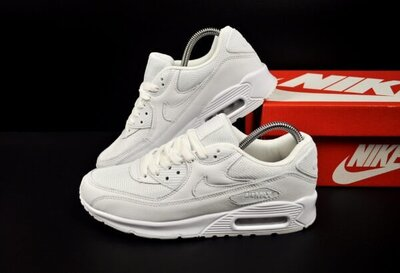 мужские кроссовки Nike Air Max 90 белые 41-46р