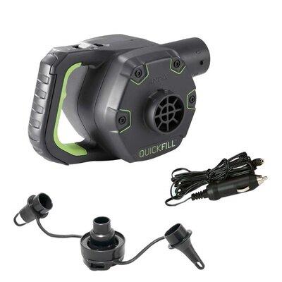 Электрический автомобильный аккумуляторный насос Intex 66642 Quick-Fill