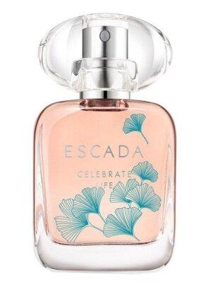 Celebrate life escada крутой пробник аромата для женщин из дубая,парфуми, фруктовый аромат