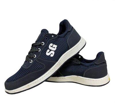 Кросівки чоловічі літні сині Ск-8-4С