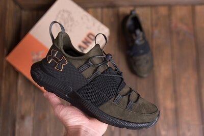 Мужские кожаные кроссовки Under Armour