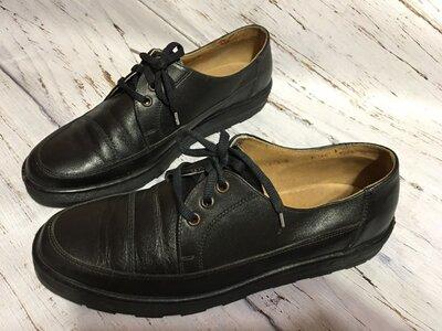 Кожаные туфли р 42
