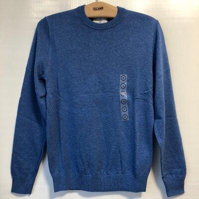 Светло-Синий фирменный свитер C&A, хлопок, пр-во Германии, в наличии р-р S
