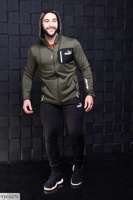 Мужской спортивный костюм Пума новинка 2021