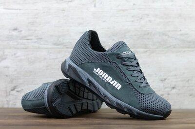 Мужские кроссовки Jordan JD 6 сер/сет