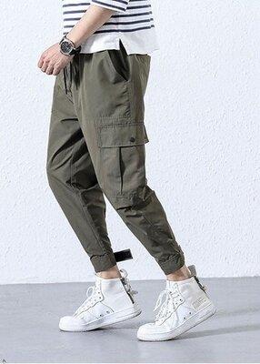 Стильные мужские штаны с карманами