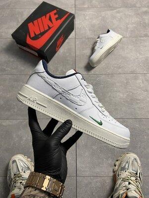 Мужские Кроссовки Nike Air Force 1 Kith White AAA 40-41-42-43-44-45
