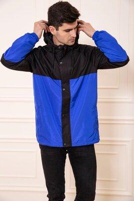 Куртка-Ветровка Мужская С Капюшоном