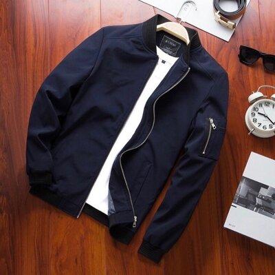 Куртка мужская 1343/ 760 Цвета чёрный, синий, бордо Ткань - плащевка мемори подкладка Размеры -
