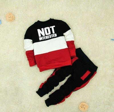 Продано: Детский костюм NOT INTERESTED в расцветках