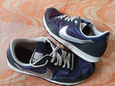 Кроссовки оригинал синие Nike размер 45-29 см