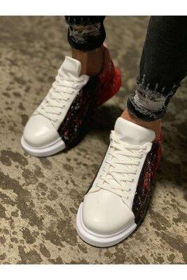 Мужские молодежные крутые стильные кроссовки кроссы кеды с надписями рисунком принтом яркие стильные