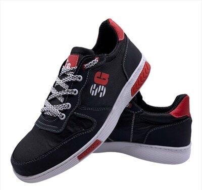 Кросівки чоловічі демісезонні чорні Ск-8-2