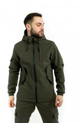 Куртка Softshell Intruder хаки.