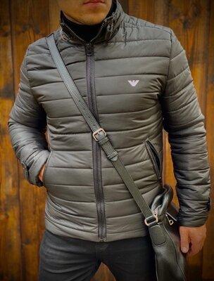 Куртка мужская 1343/ 1029 Цвета - чёрный, синий Ткань - Плащевка подкладка Наполнитель - силикон