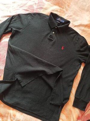 Поло оригинал чёрная Polo Ralph Lauren размер L